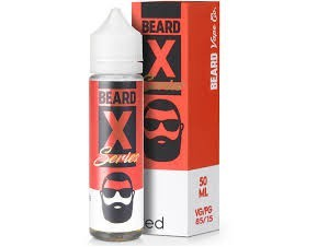X-SERIES RED 50ML BEARD VAPE