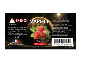 STRAWBERRY 10ML - VAPOCE
