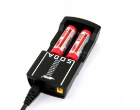 Chargeur Soda Efest (2 accus)
