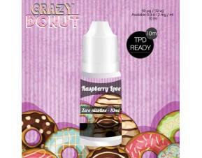 RASBERRY LOVE - CRAZY DONUT 10 ML TPD