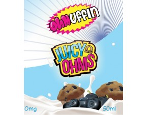 OHMUFFIN 50ML BY JUICY OHMS