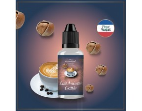 LAIT NOISETTE GRILLEE COEUR GOURMAND AROME 30ML