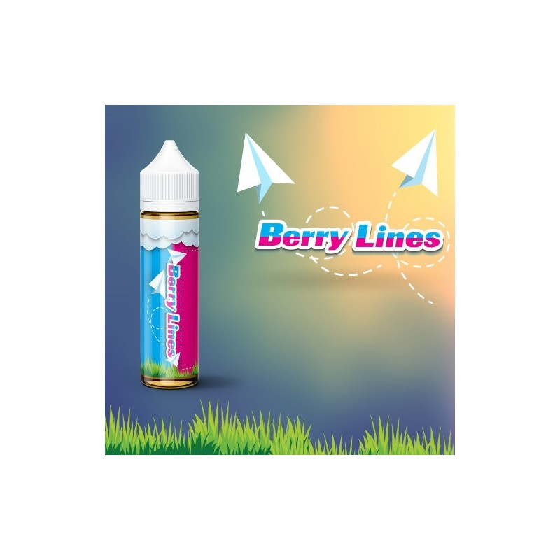 RED ON BOARD BERRY LINES 50ML